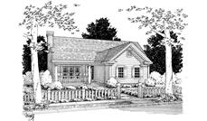 Main image for house plan # 5411