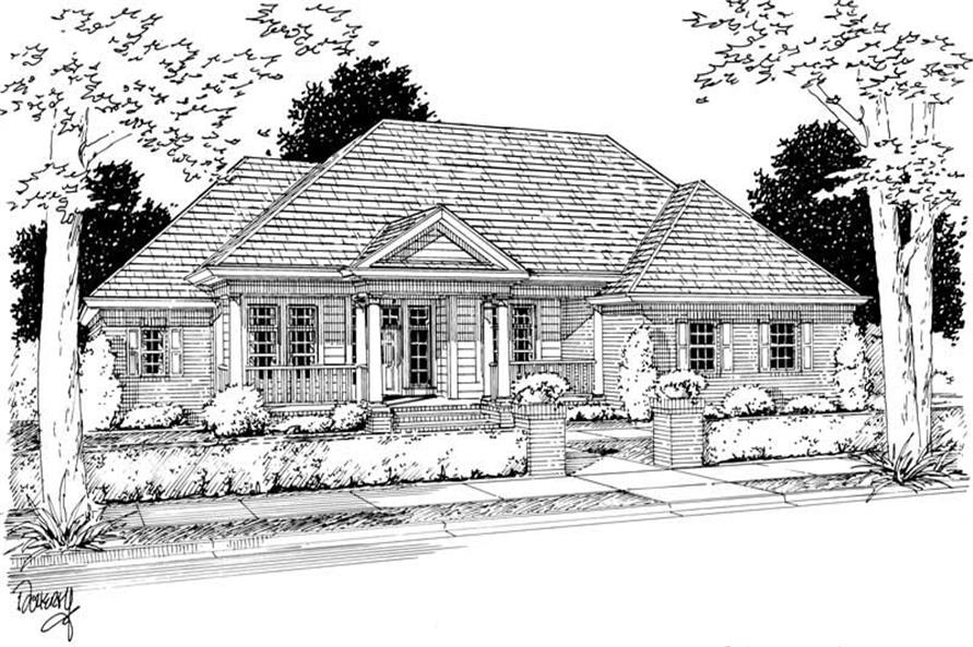 Main image for house plan # 5398