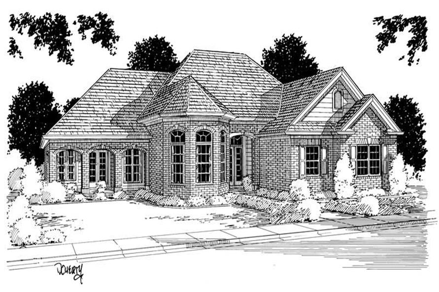 Main image for house plan # 5361
