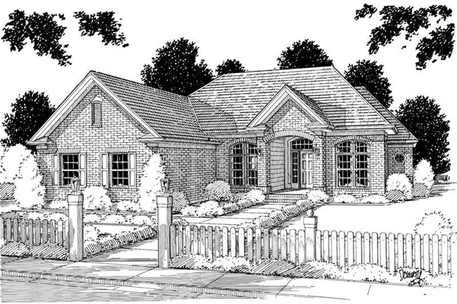 Main image for house plan # 5349