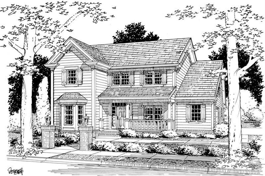 Main image for house plan # 5402