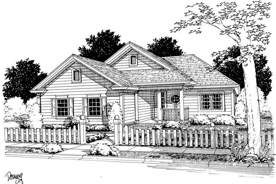 Main image for house plan # 5424
