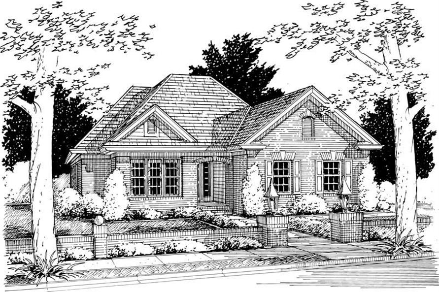 Main image for house plan # 5407