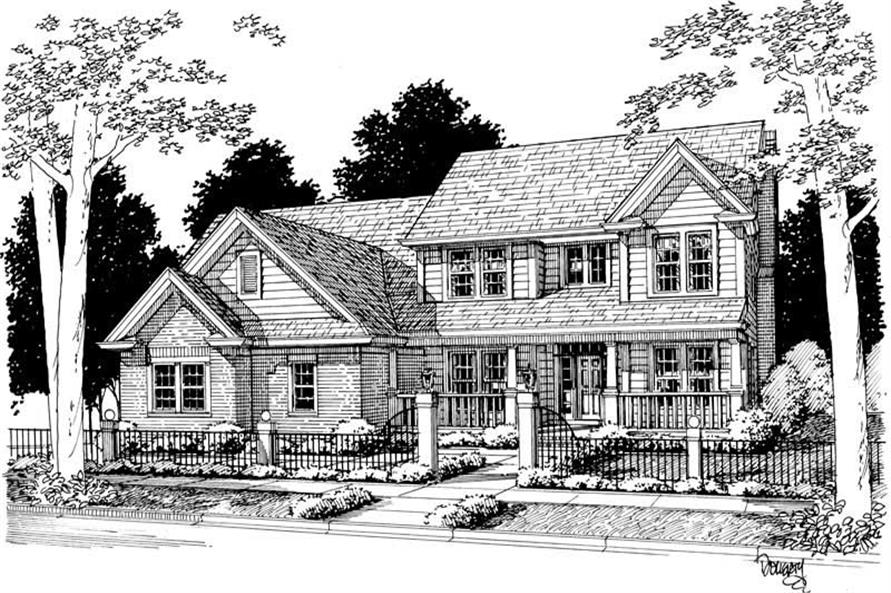 Main image for house plan # 5385