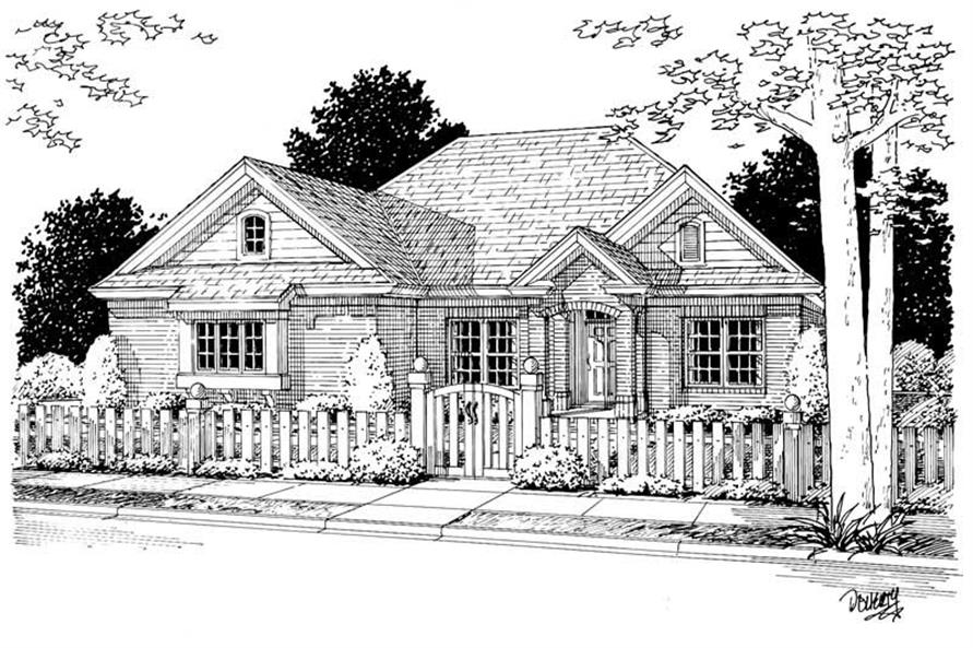 Main image for house plan # 5436