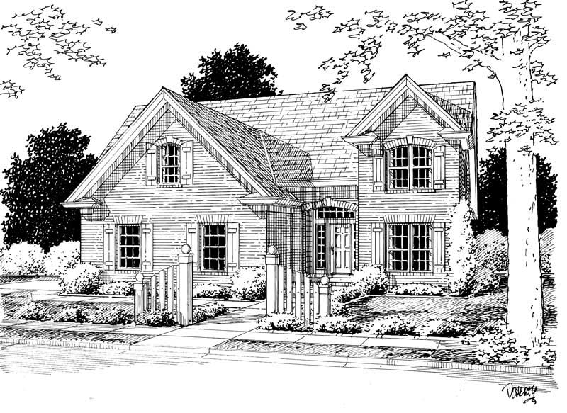 Country House Plan 4 Bedrms 2 Baths 2077 Sq Ft 178 1137