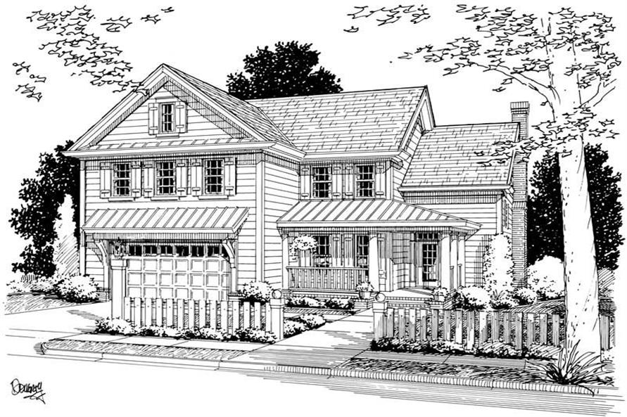 Main image for house plan # 5434