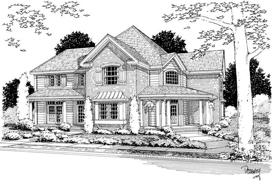 Main image for house plan # 5433