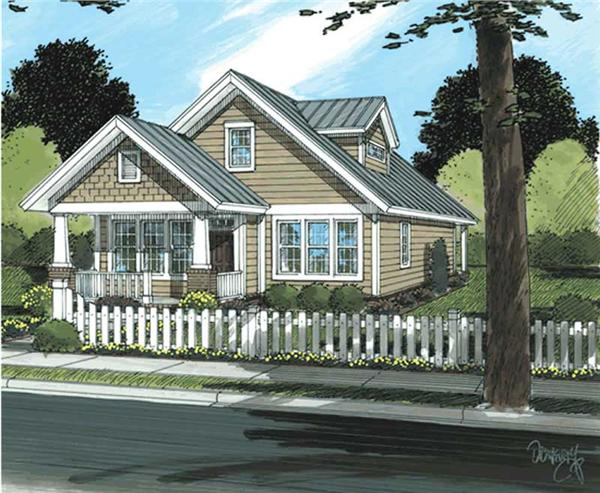 Main image for house plan # 11730