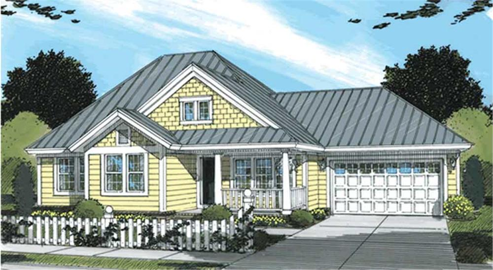Main image for house plan # 11725