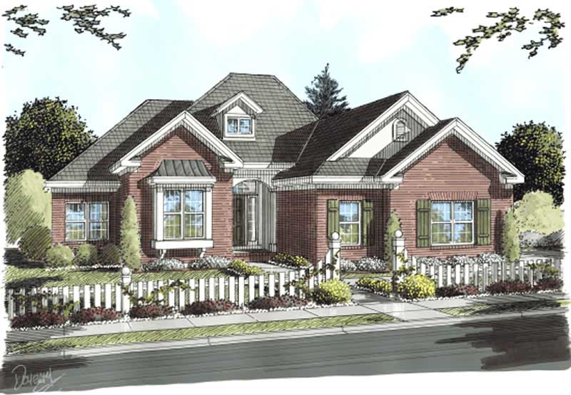 French Country Ranch House Plans Home Design 11763