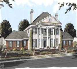 House Plan #178-1161