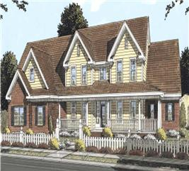 House Plan #178-1162
