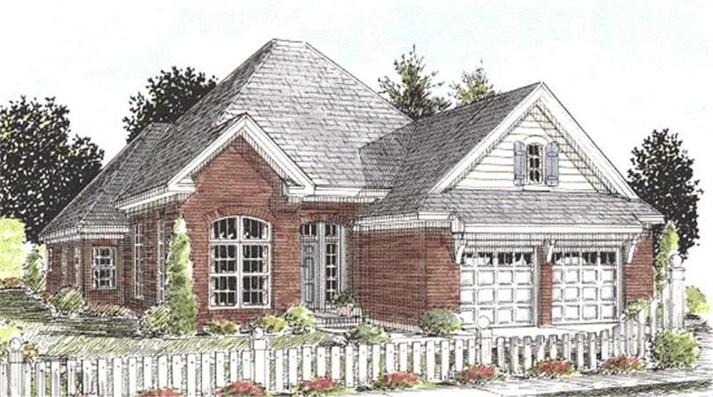 Main image for house plan # 11779
