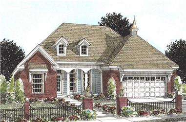 3-Bedroom, 1780 Sq Ft Cape Cod House Plan - 178-1166 - Front Exterior