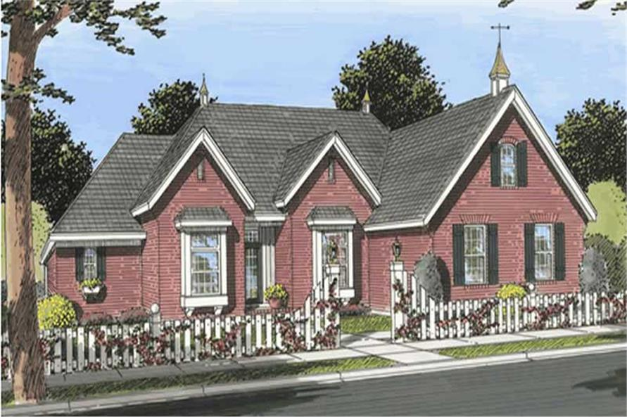 Main image for house plan # 11745