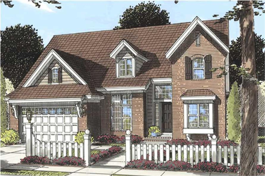 Main image for house plan # 11737