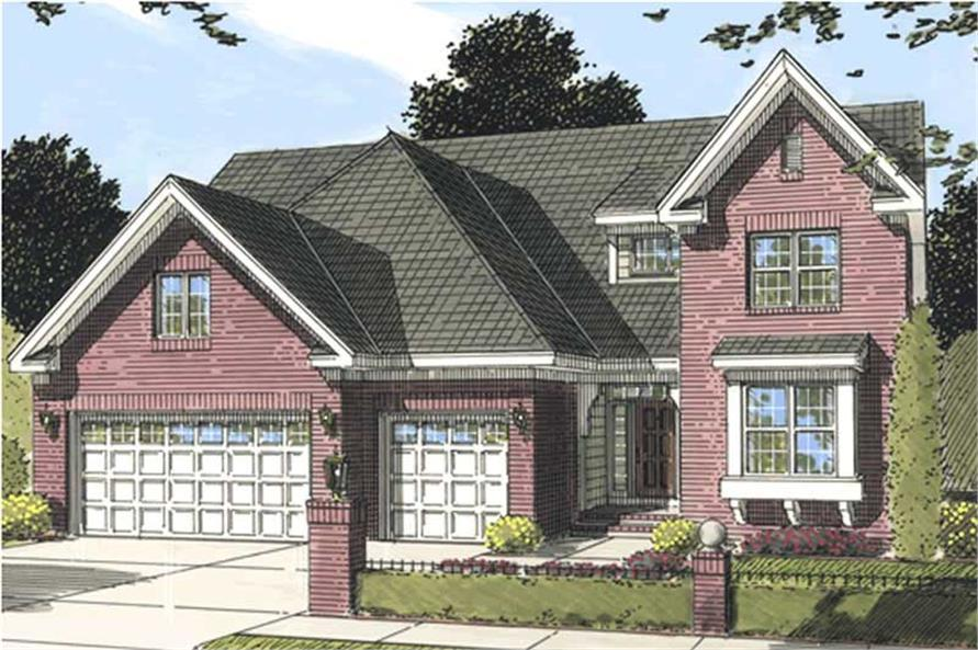 Main image for house plan # 11735