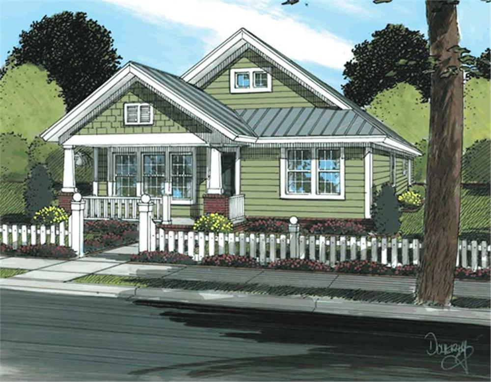 Main image for house plan # 11732