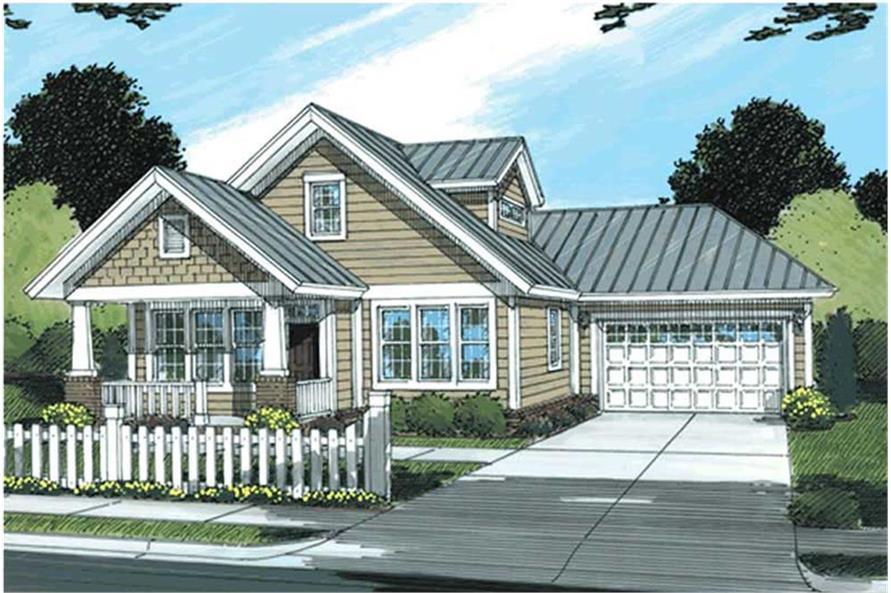 178-1176: Home Plan Rendering