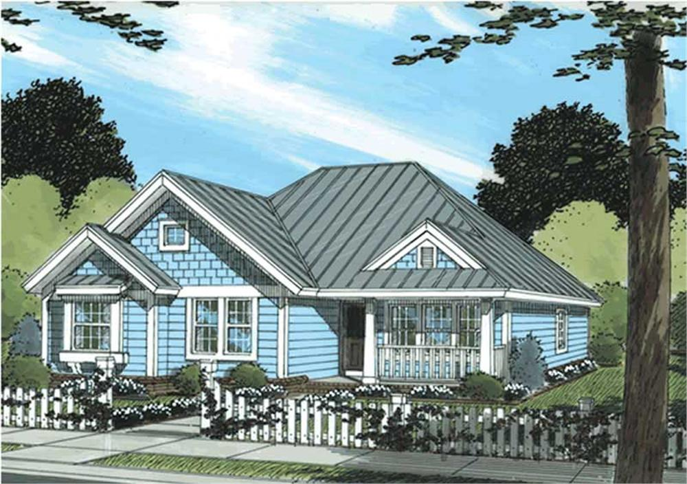Main image for house plan # 11728