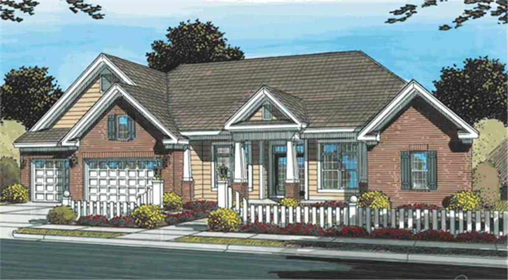 Main image for house plan # 11740