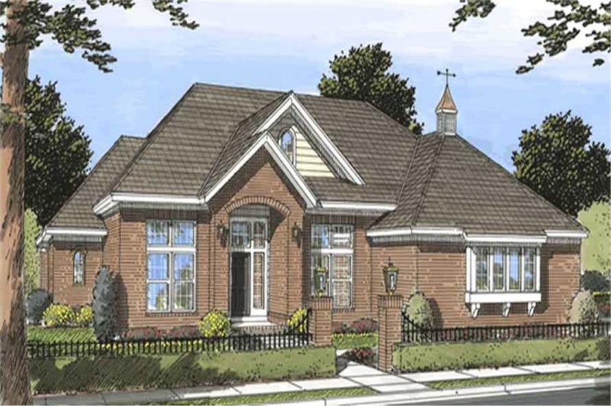 Main image for house plan # 11747