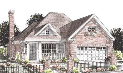 Main image for house plan # 11773