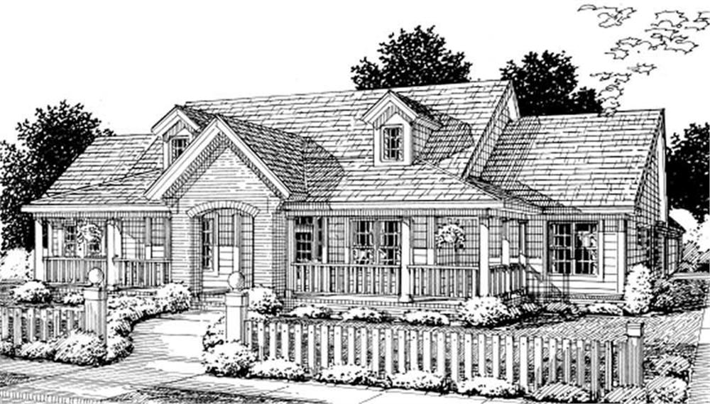 Main image for house plan # 11792