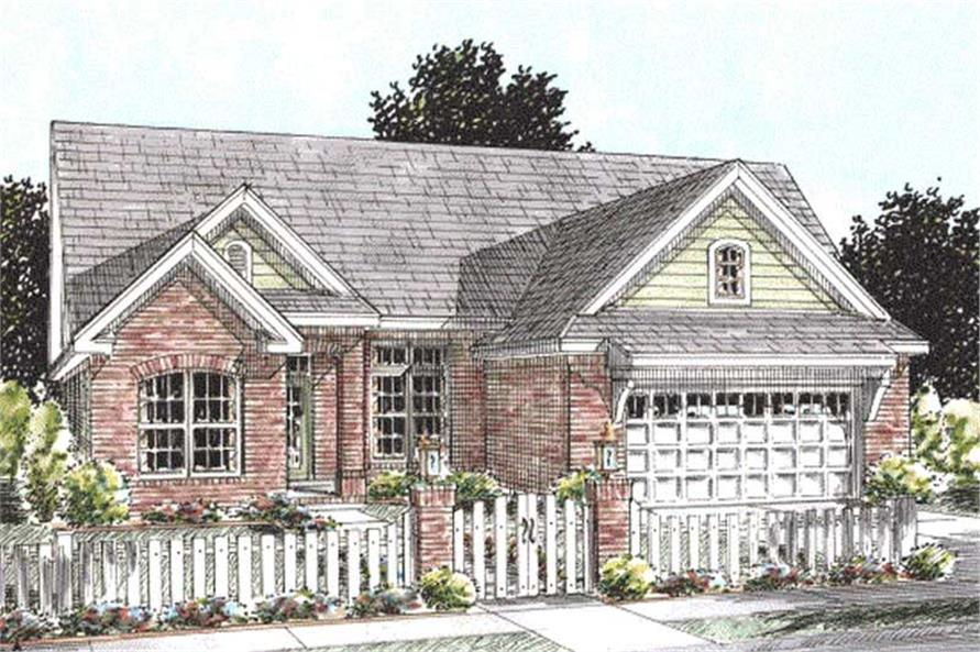 Main image for house plan # 11775