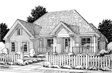 4-Bedroom, 2694 Sq Ft Traditional House Plan - 178-1211 - Front Exterior