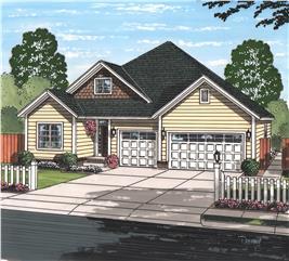 House Plan #178-1223