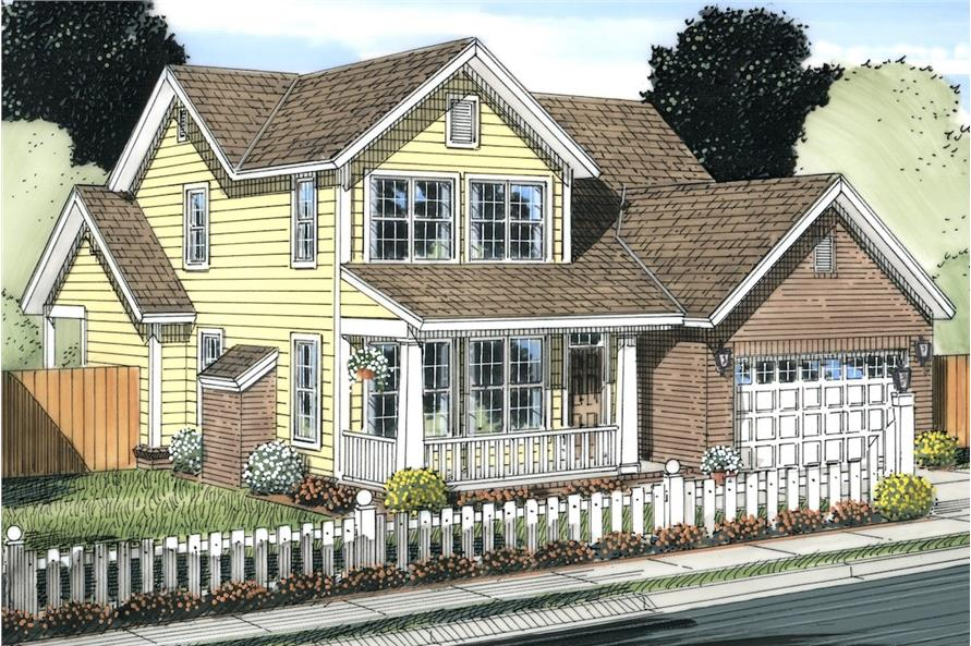 178-1232: Home Plan Rendering