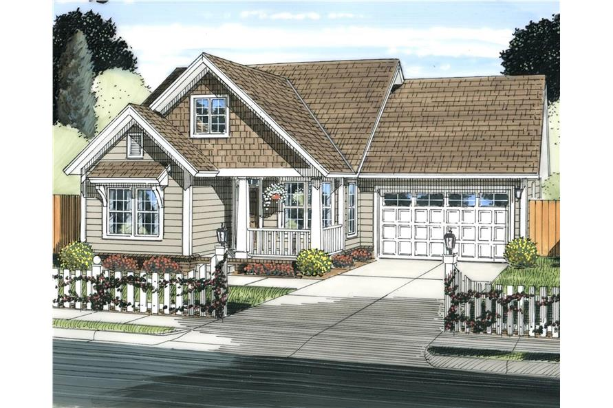 178-1239: Home Plan Rendering