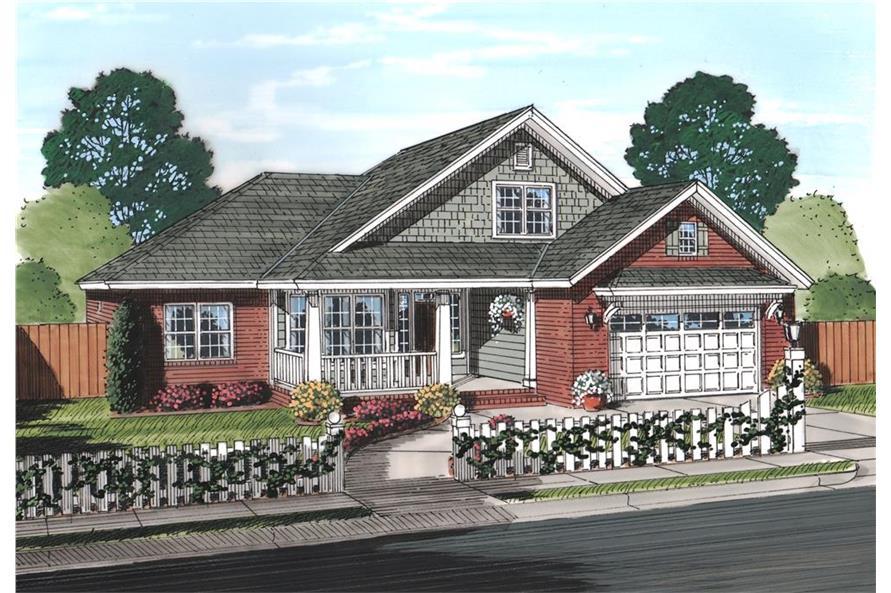 178-1240: Home Plan Rendering