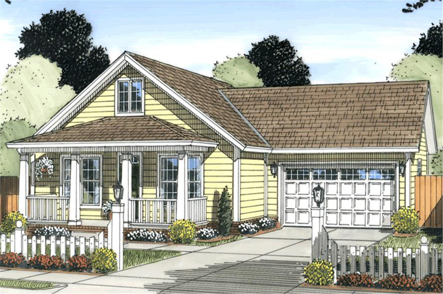 178-1249: Home Plan Rendering