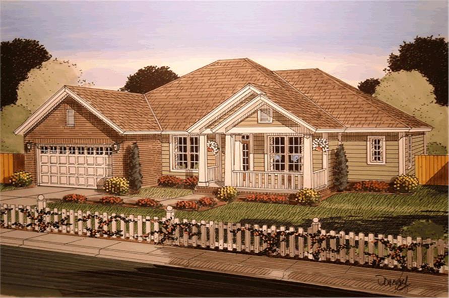 178-1250: Home Plan Rendering