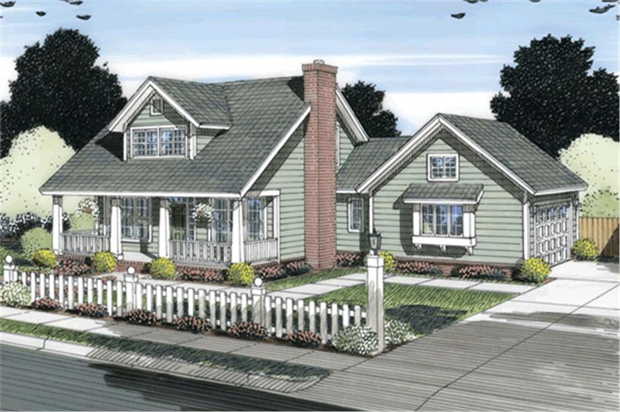178-1251: Home Plan Rendering