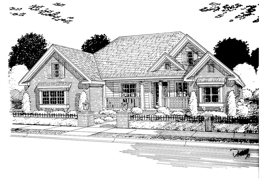 178-1252: Home Plan Rendering