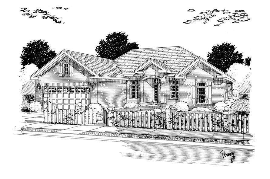 178-1254: Home Plan Rendering