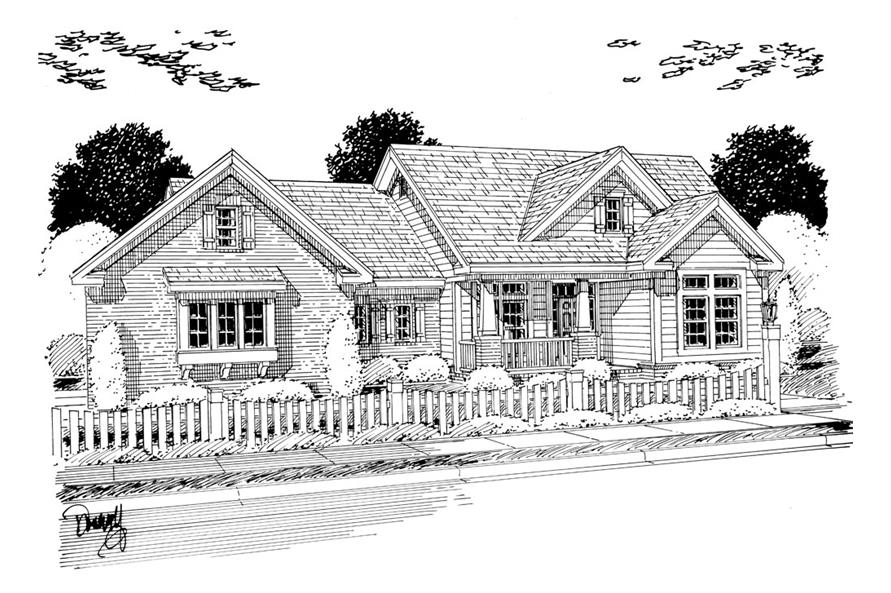 178-1255: Home Plan Rendering