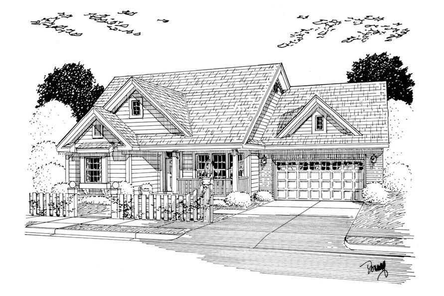 178-1256: Home Plan Rendering