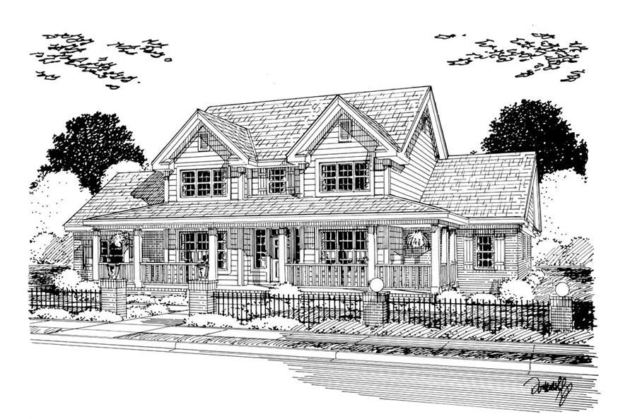 178-1257: Home Plan Rendering
