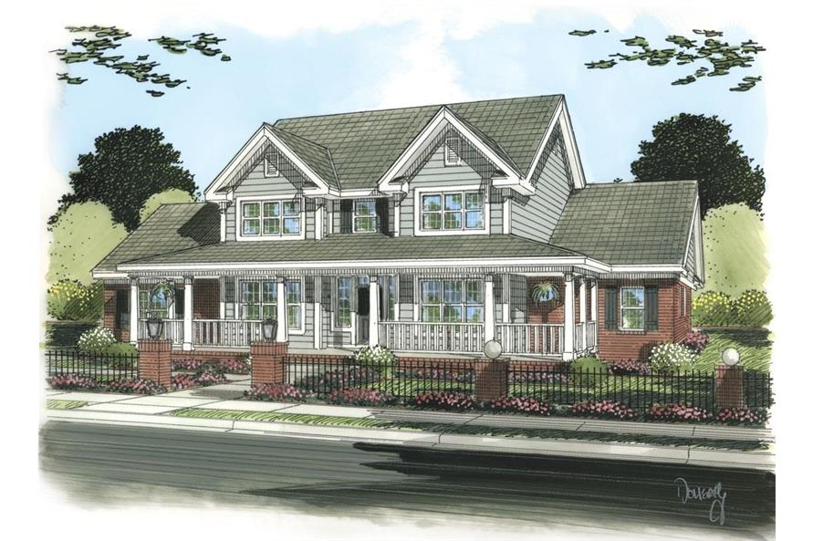 178-1257: Home Plan Rendering