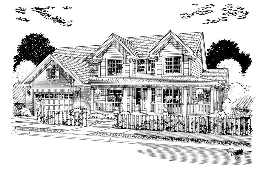 178-1258: Home Plan Rendering
