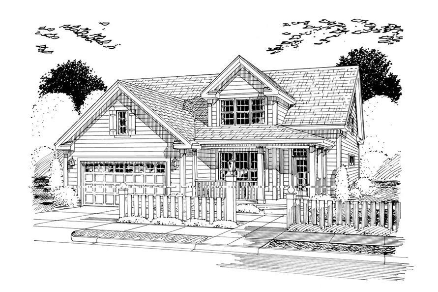 178-1259: Home Plan Rendering