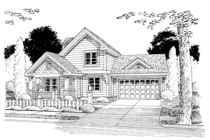 178-1260: Home Plan Rendering