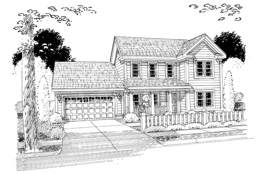 178-1261: Home Plan Rendering