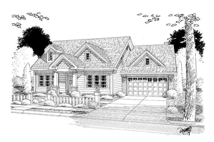 178-1262: Home Plan Rendering