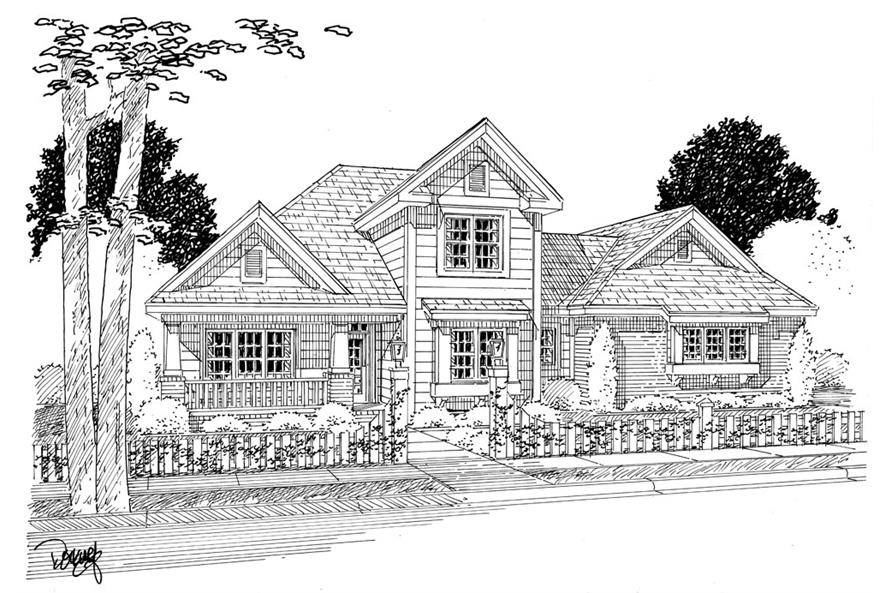 178-1263: Home Plan Rendering